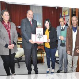 Honeur à Hayet El Amri